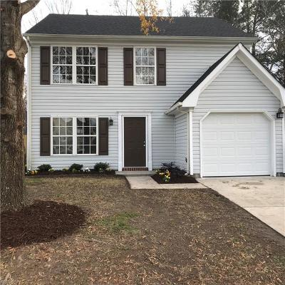 Suffolk Single Family Home New Listing: 5019 Huntclub Chse