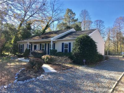 Chesapeake Single Family Home New Listing: 234 George Washington Hwy
