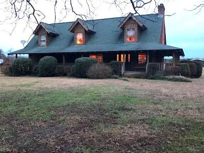 Suffolk Single Family Home For Sale: 8353 Pineview Rd