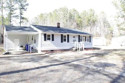 Suffolk Single Family Home New Listing: 1771 Airport Rd