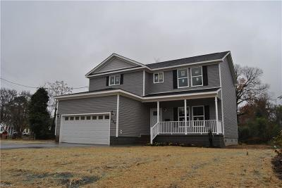 Norfolk Single Family Home New Listing: 8108 Diggs Rd