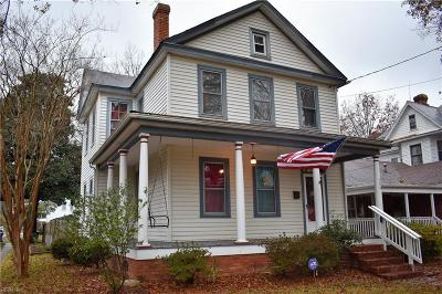 Portsmouth Single Family Home New Listing: 258 Broad St