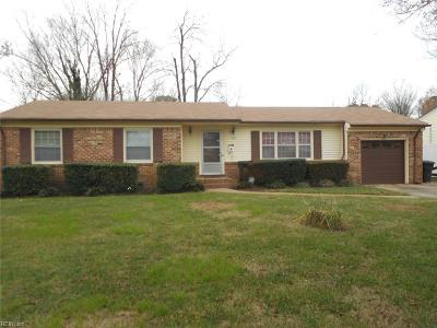 Virginia Beach Single Family Home New Listing: 413 Kings Point Ct