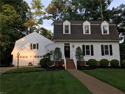 Virginia Beach Single Family Home New Listing: 904 Royal Oak Cls