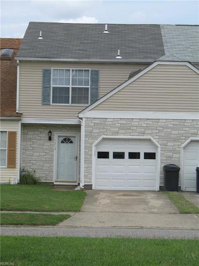 Chesapeake Single Family Home New Listing: 1213 Alder Ct