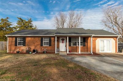Virginia Beach Single Family Home New Listing: 5132 Andover Rd