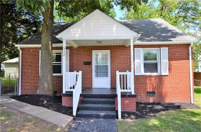 Hampton Single Family Home New Listing: 332 Wakefield Ave