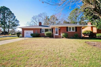Hampton Single Family Home New Listing: 501 N Winona Dr