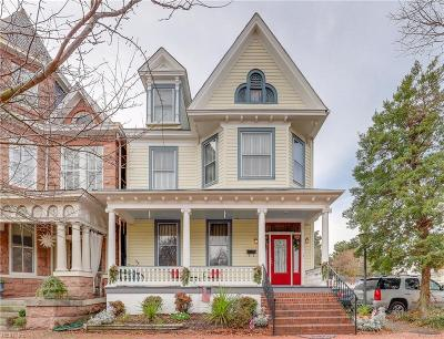 Portsmouth Single Family Home For Sale: 366 Court St