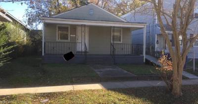 Newport News VA Single Family Home For Sale: $29,900