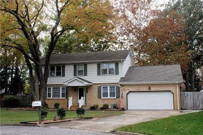 Virginia Beach VA Single Family Home New Listing: $335,000