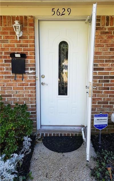 Virginia Beach VA Single Family Home New Listing: $130,000