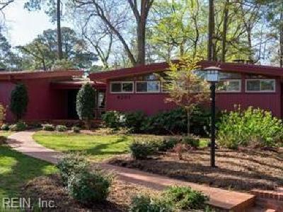 Virginia Beach VA Single Family Home New Listing: $725,000