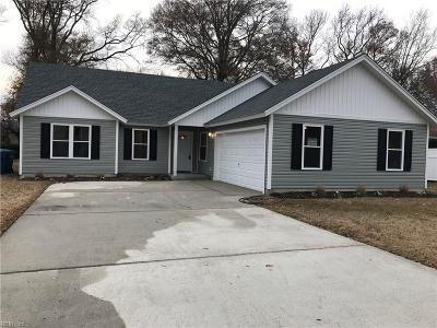 Virginia Beach VA Single Family Home New Listing: $329,900