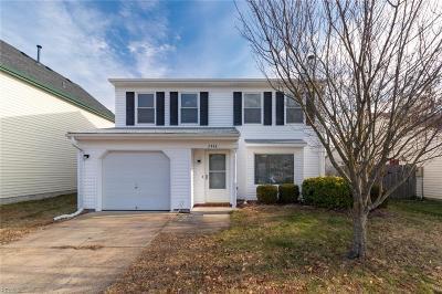 Virginia Beach VA Single Family Home New Listing: $250,000