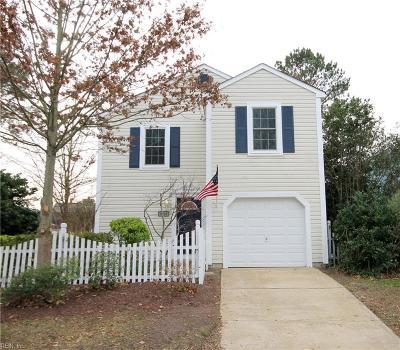 Virginia Beach VA Single Family Home New Listing: $244,900