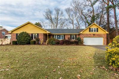 Virginia Beach VA Single Family Home New Listing: $261,000