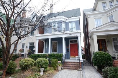 Norfolk Single Family Home For Sale: 618 Boissevain Ave