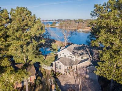 Norfolk Single Family Home For Sale: 1470 Holly Point Rd