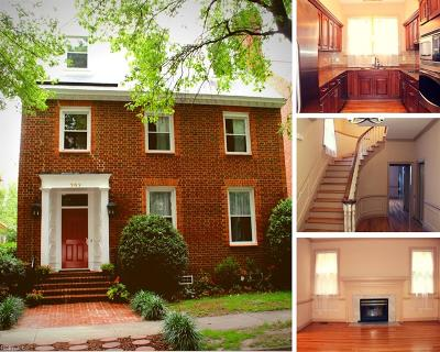 Norfolk Single Family Home For Sale: 707 Mowbray Arch