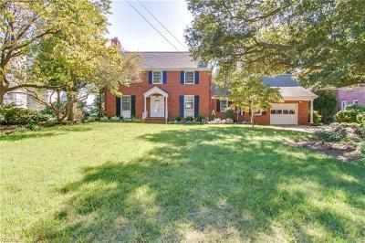 Hampton Single Family Home For Sale: 4106 Chesapeake Ave