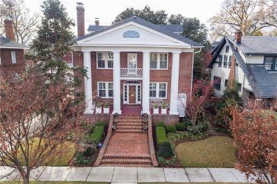 Norfolk Single Family Home For Sale: 707 Baldwin Ave