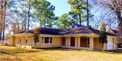Portsmouth Single Family Home Under Contract: 4121 Faber Rd