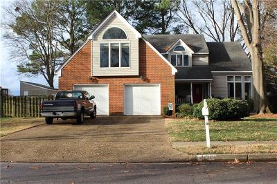 Norfolk Single Family Home For Sale: 429 Peace Haven Dr