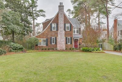 Norfolk Single Family Home Under Contract: 1440 Daniel Ave