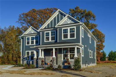 Hampton Single Family Home For Sale: Mm Carrigan @ Edmonds Cove Rd