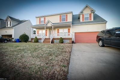 Portsmouth Single Family Home Under Contract: 515 Mount Pleasant Dr
