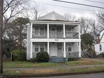 Norfolk VA Multi Family Home For Sale: $125,000