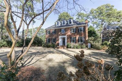 Norfolk Single Family Home Under Contract: 1392 Emory Pl
