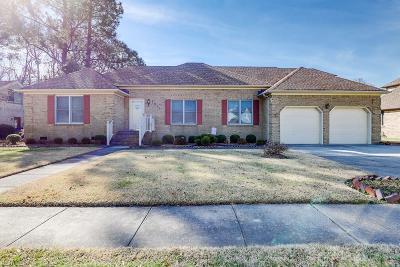 Norfolk Single Family Home For Sale: 7517 Honeysuckle Rd