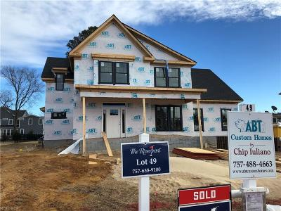 Suffolk Single Family Home Under Contract: 3387 Village Square Pl