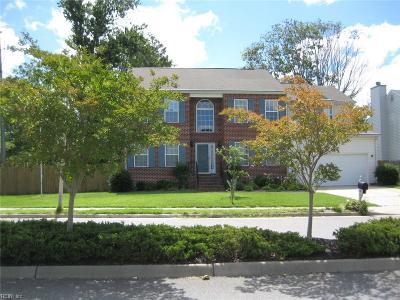 Hampton Single Family Home For Sale: 1738 Aspenwood Dr
