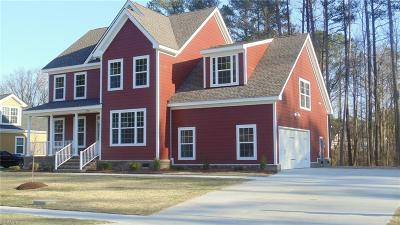 Suffolk Single Family Home For Sale: Mm Magnolia A1 Anthony Pl