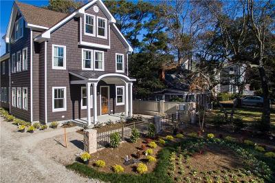 Virginia Beach Single Family Home For Sale: 227 76th St
