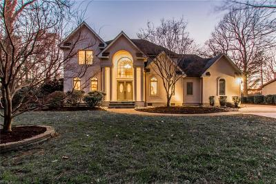 Virginia Beach Single Family Home For Sale: 813 N Villier Ct