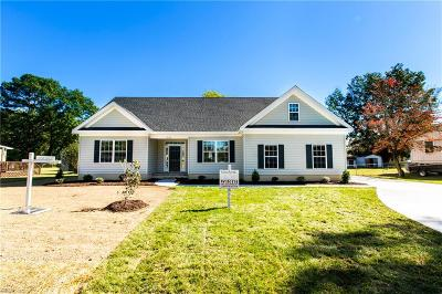 Western Branch Single Family Home For Sale: Mm Myrtle Jolliff Rd