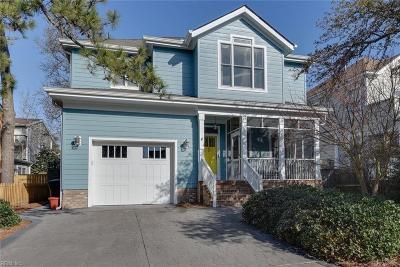 Virginia Beach Single Family Home For Sale: 213 75th St