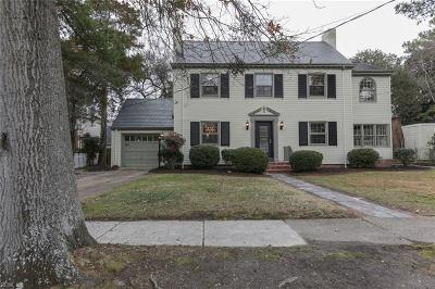 Norfolk Single Family Home For Sale: 506 Carlisle Way