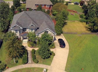 Chesapeake Single Family Home For Sale: 1816 Charlotte Ann Ct