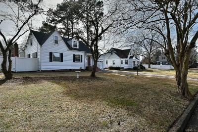 Portsmouth Single Family Home For Sale: 4215 Winchester Dr
