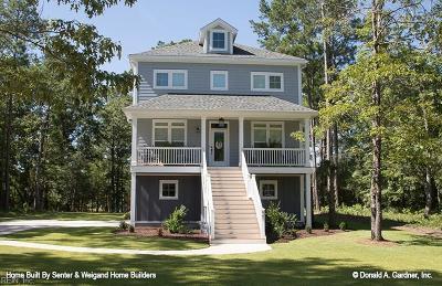 Virginia Beach Single Family Home For Sale: 2560 Ocean Shore Ave