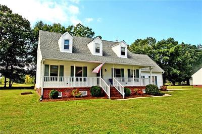 Suffolk Single Family Home For Sale: 4609 Schooner Blvd