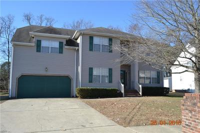 Portsmouth Single Family Home For Sale: 4065 Long Point Blvd