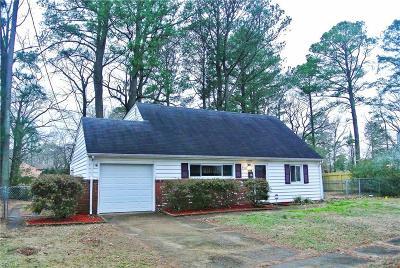 Norfolk Single Family Home For Sale: 5517 Deepdale Dr