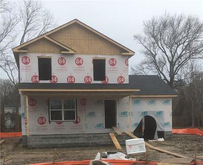 Hampton Single Family Home New Listing: 461 Seaboard Ave