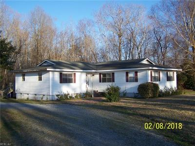 Suffolk Single Family Home New Listing: 6802 Elwood Rd